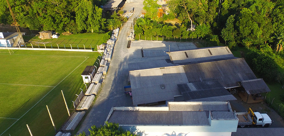 Fábrica Lajes Hertel – Blumenau SC