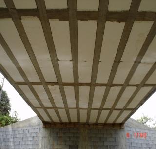 Pontes - Laje treliçada